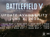 Battlefield V: Summer Update