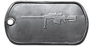 BF4 AMR-2 Master Dog Tag