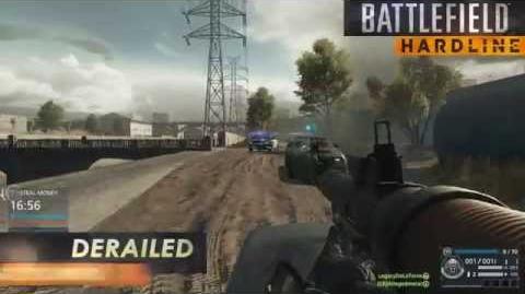 Battlefield Hardline Gameplay Blood Money on Derailed
