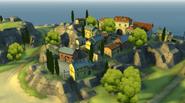 Buccaneer Bay Town Overview