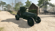BF1 F.T Armored Car USA Front