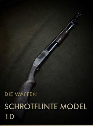BF1 Kodexeintrag Schrotflinte Model 10