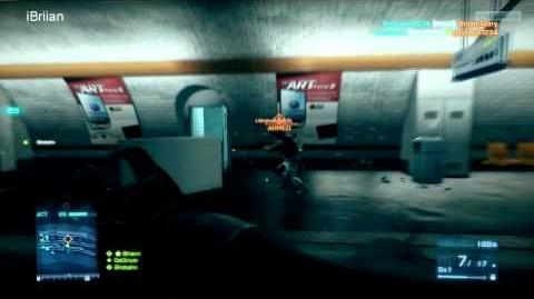 Battlefield 3 Beta 870 MCS Gameplay