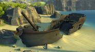 Buccaneer Bay Shipwreck