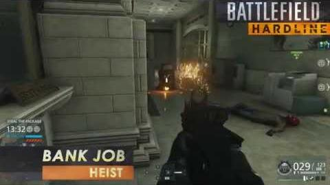 Battlefield Hardline Gameplay Heist on Bank Job