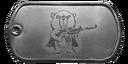 BF4 Formosan Bear Warrior Dog Tag