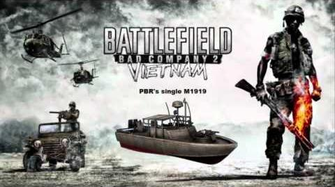 Battlefield Bad Company 2 Vietnam - PBR single turret sound