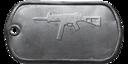 BF4 UMP-45 Master Dog Tag