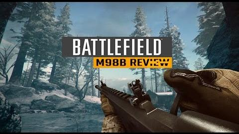 Battlefield Hardline M98B Review