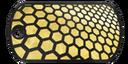 BF4 Premium Honeycomb Dog Tag