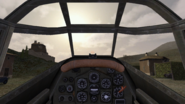 BF1942.Bf 110 cockpit view