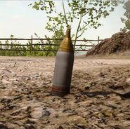 Tripwire bomb HE BF1 deployed