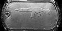 BF4 AK5C Master Dog Tag