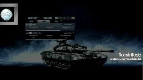 Battlefield 3 Tank Guide - Thermal Camo