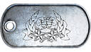 BF3 Co-Op Service Star 10 Dog Tag