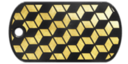 BF4 Premium Cube Pattern Dog Tag
