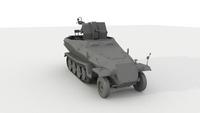 BF5 Flakwagen Render