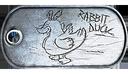 Rabbit Duck Dog Tag
