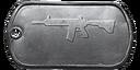 BF4 M416 Master Dog Tag