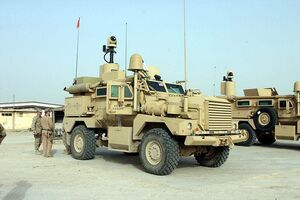 Cougar H MRAP IRL