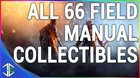 Battlefield 1 - All 66 Field Manual Locations - Collectibles Codex