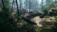 Argonne Forest Domination Railroad Depot