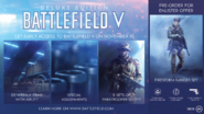 Battlefield V Deluxe Edition Pre-Order Reward