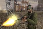 BF1942 SOVIET SOLDIER MP18
