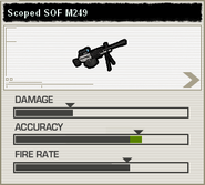 BFH Scoped Arctic M249 Stats