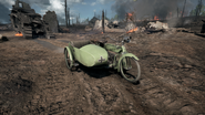 BF1 MC 3.5HP Sidecar Front