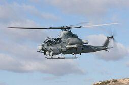 AH-1Z In-flight
