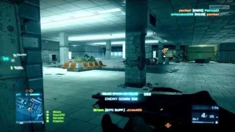 Battlefield 3 Beta M1014 Gameplay