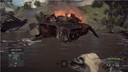 Destroyed BMP