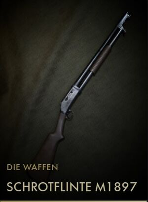 BF1 Kodexeintrag Schrotflinte M1897