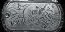 BF4 Absolute Metal Dog Tag