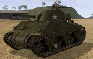 BF1942 SHERMAN USA FRONT