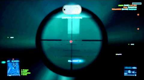 Battlefield 3 - SV98 Sniping Kill Streak