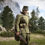 Battlefield 1 Kingdom of Italy Scout