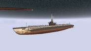 Gato.Submerged fully.BF1942