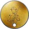 Battlefield 1 CTE Veteran Dog Tag