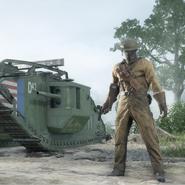 Battlefield 1 United States Tanker
