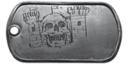 BF4 Conquest Medal Dog Tag
