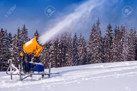 Snow Cannon IRL