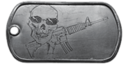 BF4 Assault Rifle Medal Dog Tag