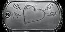 BF4 Defibrillator Medal Dog Tag