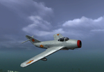BFV MiG-17 IN FLIGHT