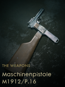 Maschinenpistole M1912-P.16 Codex Entry