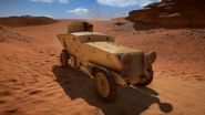 BF1 Romfell Armored Car OTM Front