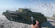 BF5 Churchill AVRE In-game