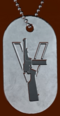 BFV Trench Carbine Expert Dog Tag